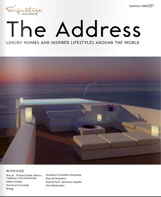 The Address Magazine Issue 1
