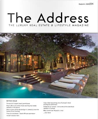 The Address Magazine Cover Issue 4