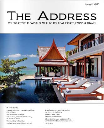 The Address Magazine Cover Issue 5
