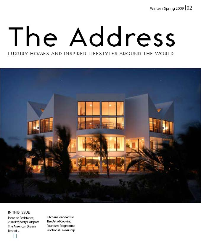 The Address Magazine Cover Issue 2