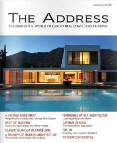 The Address Magazine Cover Issue 6