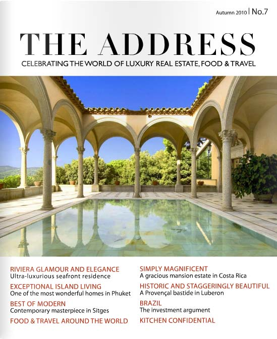 The Address Magazine Cover Issue 7