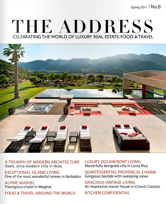 The Address Magazine Cover Issue 8