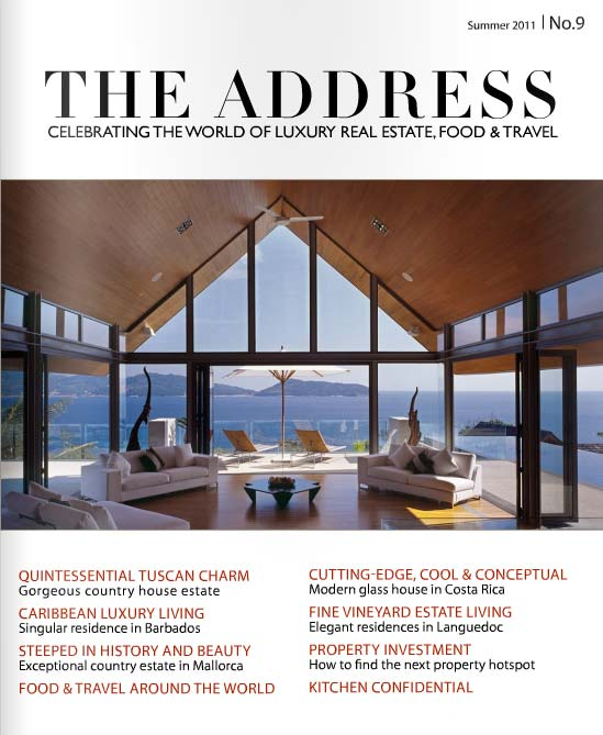 The Address Magazine cover issue 9