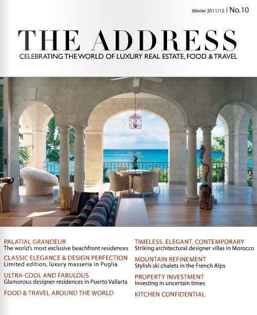 The Address Magazine 10 Cover page