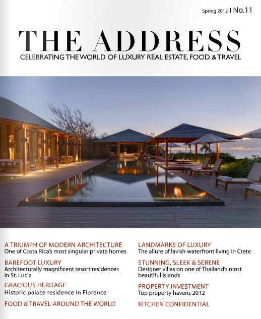 Cover Issue 11 The Address Magazine