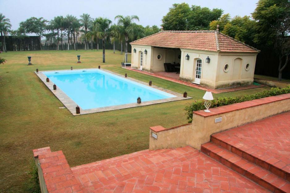Villa pool and pool house Andalusia Spain