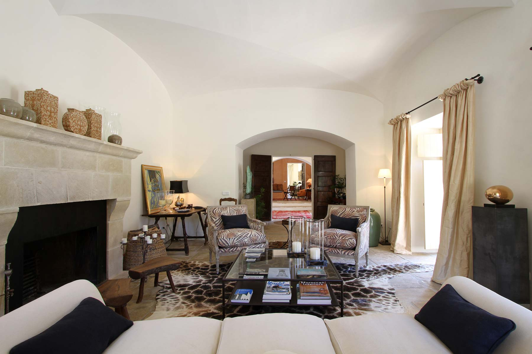 Living room, Mallorca country house