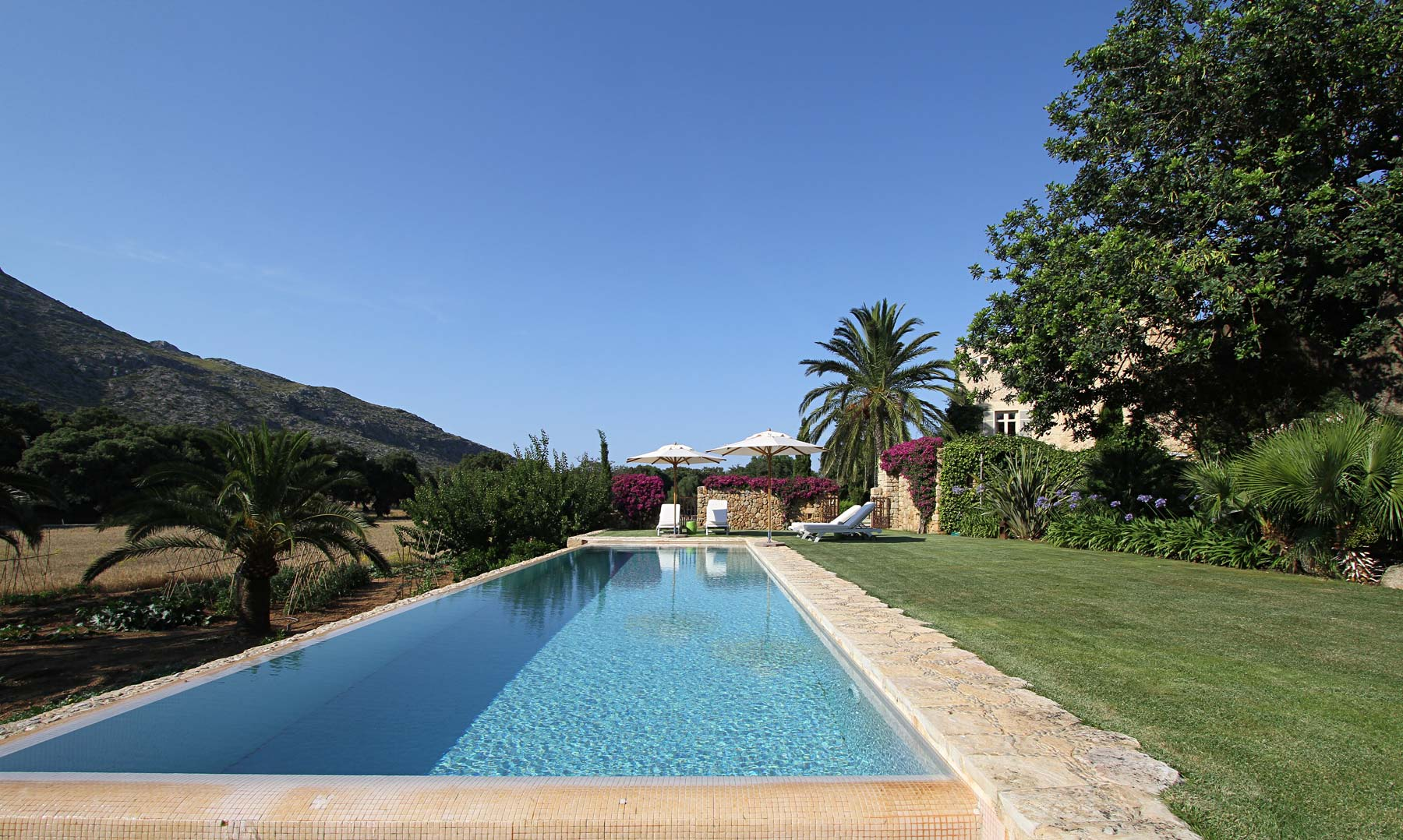 Pool, at Mallorca country house