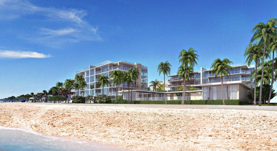 New beachfront apartments Florida