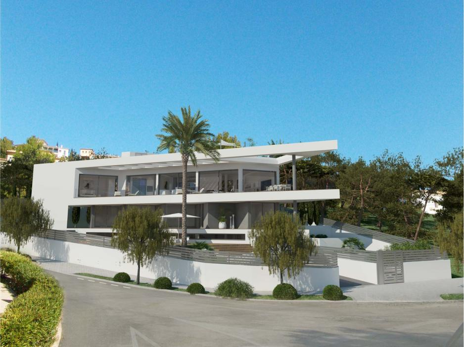 New villa in Santa Ponsa Mallorca