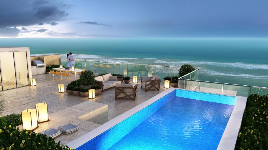 Beachfront penthouse Florida