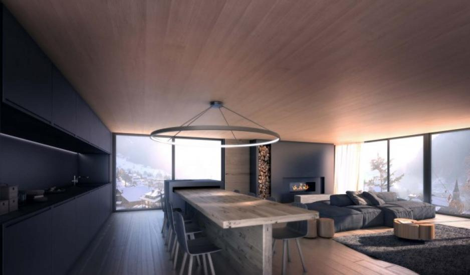 Dining area Ski chalet in Chatel France