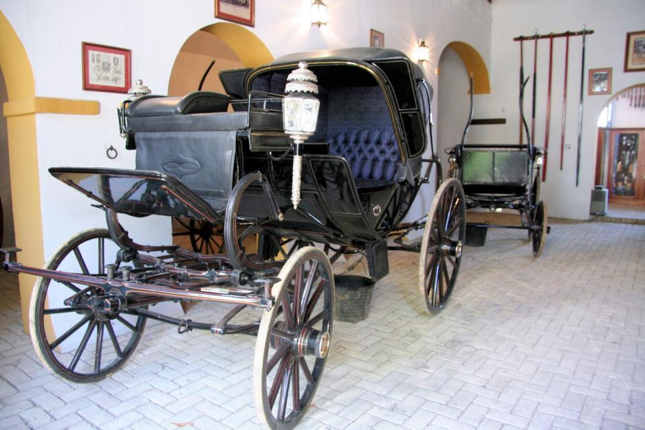 Old carriages, Equestrian property in Andalusia, Spain