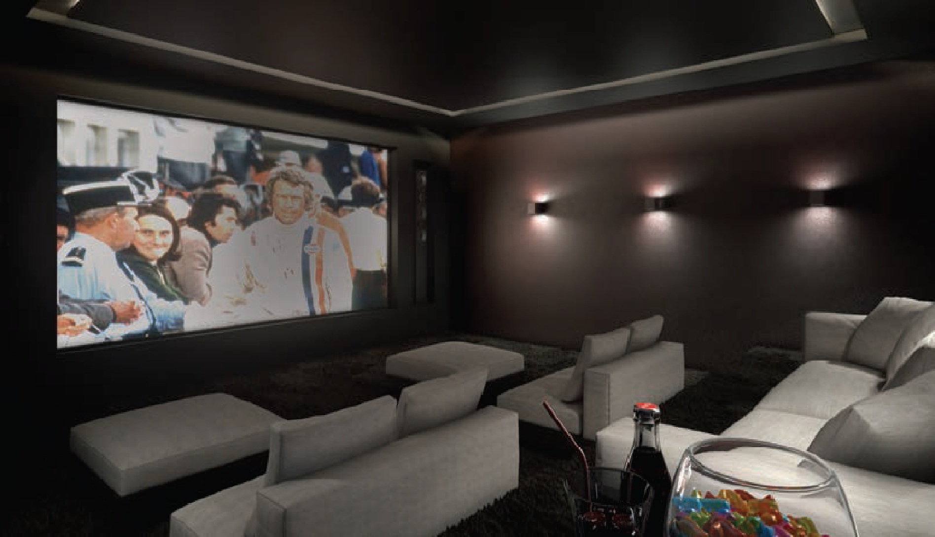 Home cinema, Chalet in Megeve