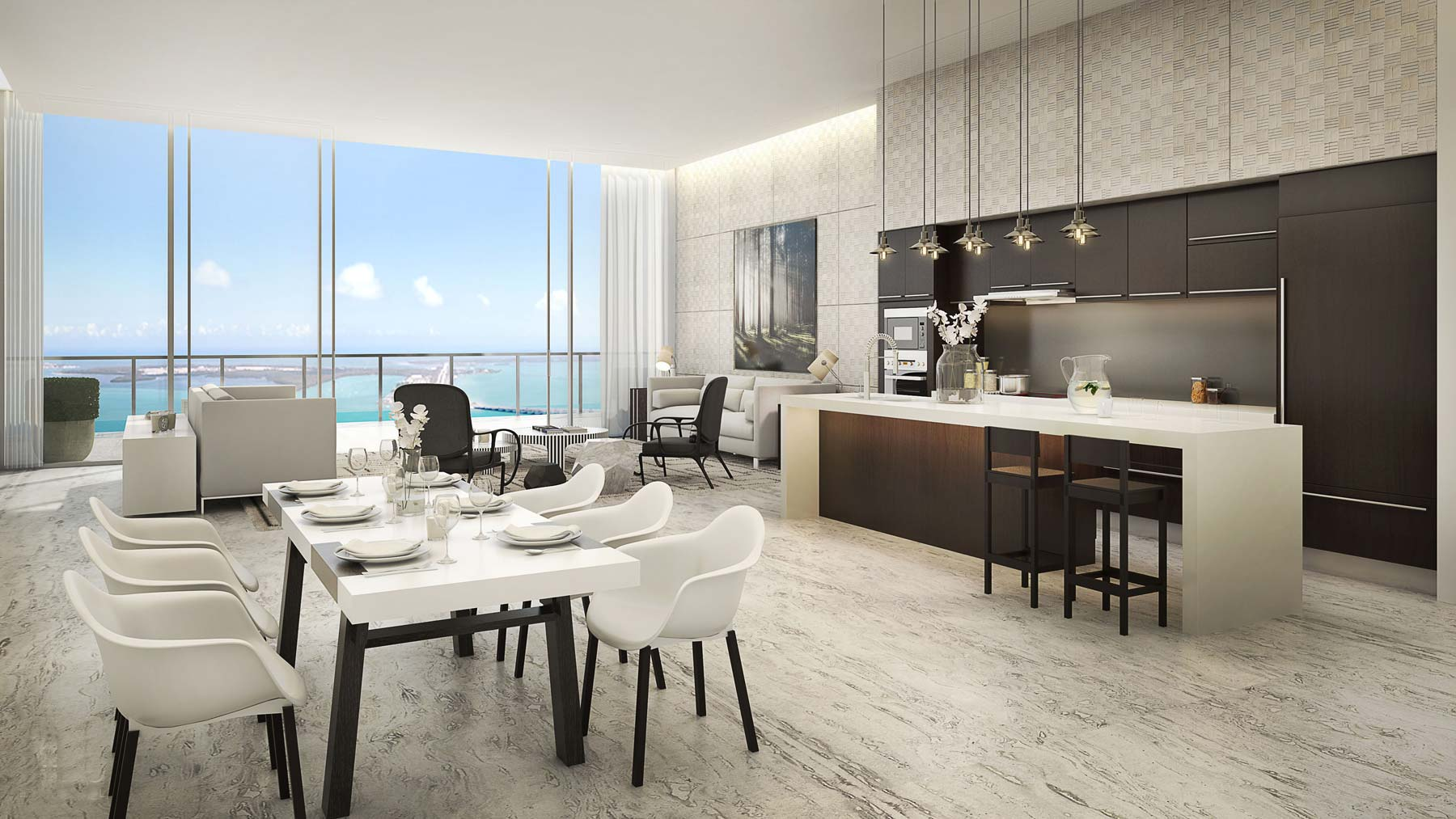 Luxury Condo Apartments In Miami Florida Beachfront Condos