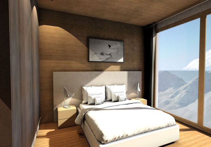 Bedroom, Ski property Val d'Isere