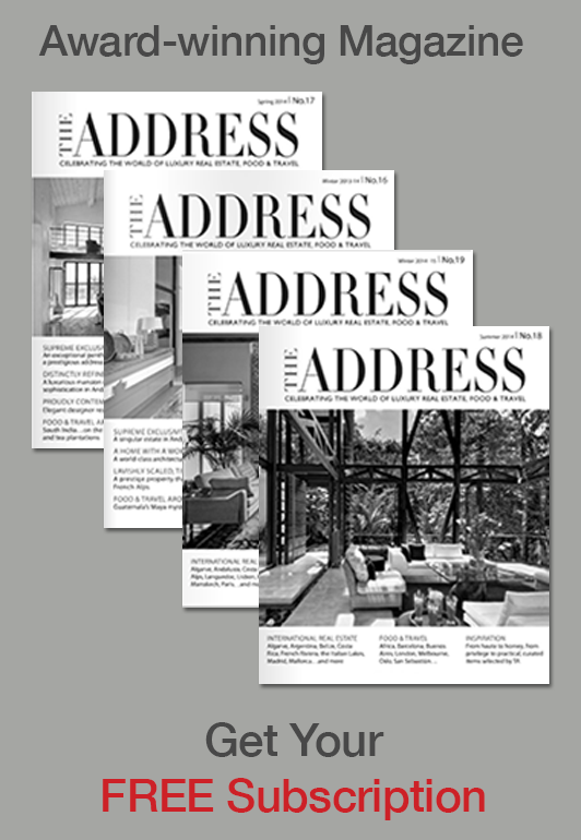 The Address Magazine subscribe banner 1
