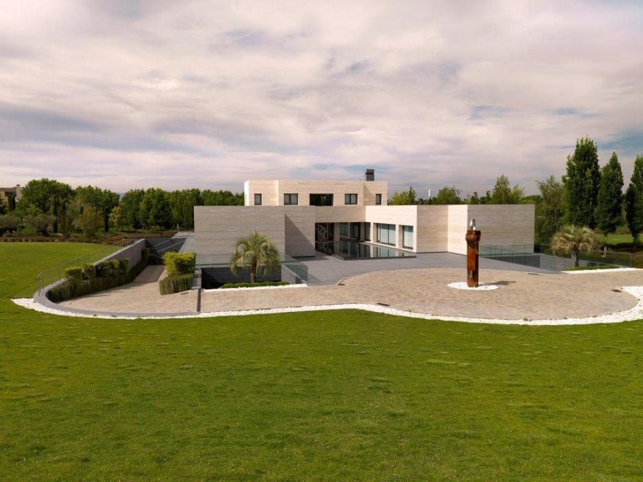 Madrid la finca villa with space and style - Casas en la finca madrid ...