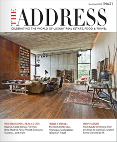 The Address Magazine No21 cover page