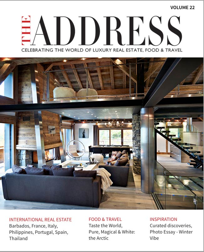 Front cover of The Address magazine volume 22