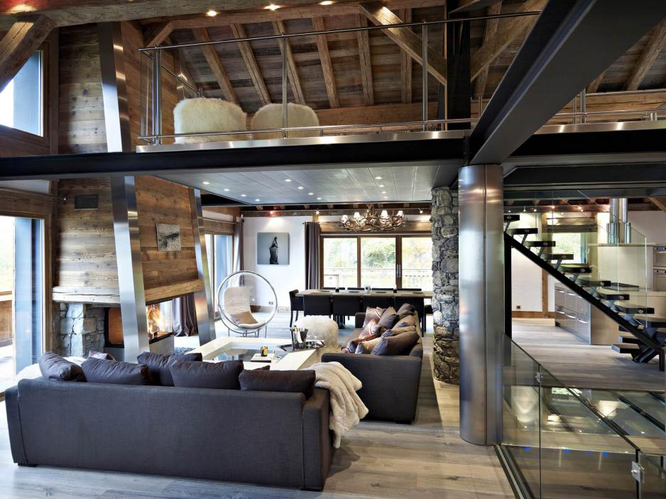 Catchy Collections of Ski Chalet Design Ideas - Fabulous Homes ...