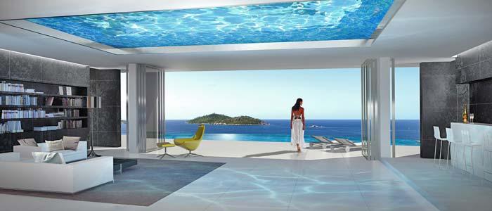 Zil Pasyon villa The Seychelles