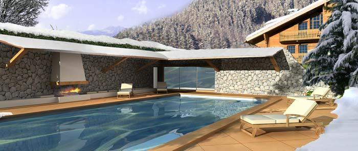 Chalet in Villar, Switzerland
