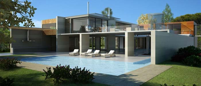 Contemporary architect designed luxury villa algarve for sale for Villa ultra moderne