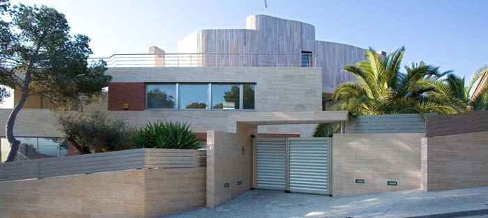 modern barcelona villa