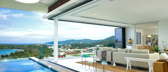 View from Phuket property