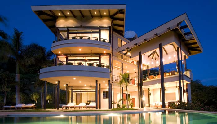 Costa rica rica real estate modern luxury villa for sale for Luxury villas in costa rica