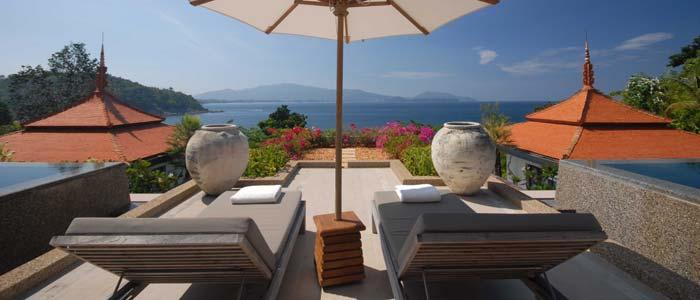 View from villa terrace, Phuket