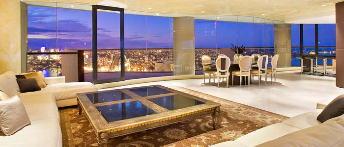View from Sydney penthouse