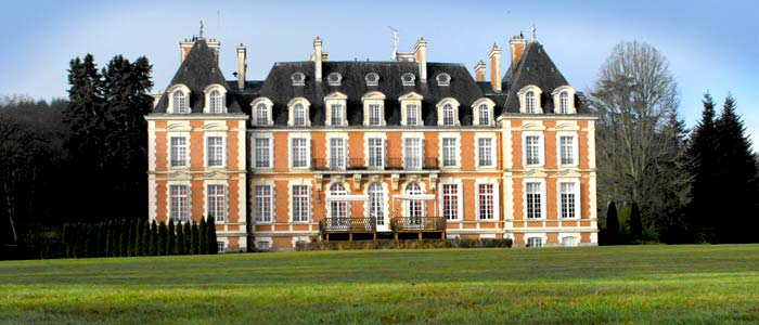 French chateau in limousin