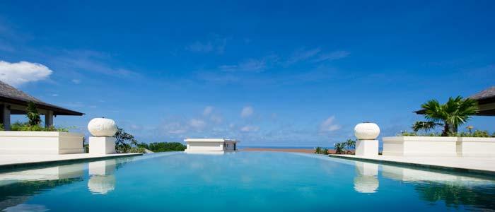 Villa pool in Bali