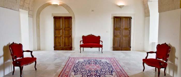 interior, restored farmhouse in Italy