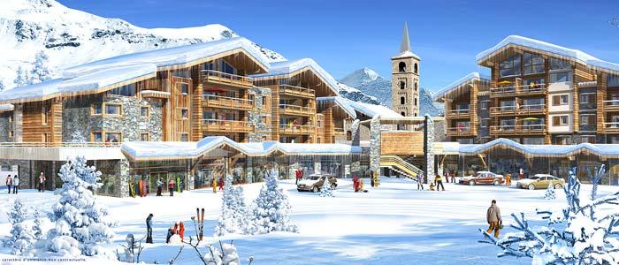 New property development in Tignes