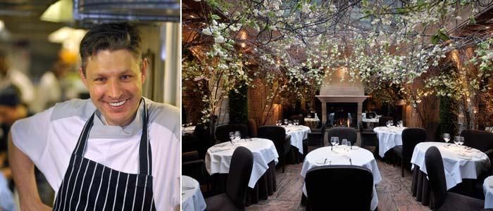 Head Chef Marcellin Marc, Restaurant Clos Maggiore, London
