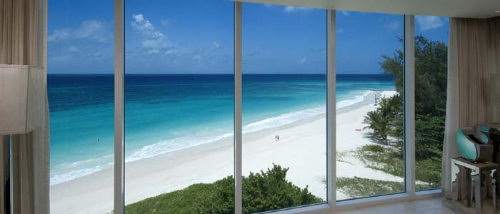 Sea view from penthouse in Barbados