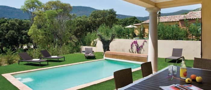 Villa garden, French Riviera
