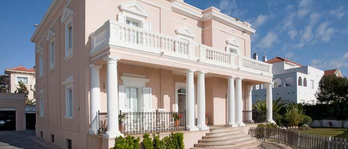 Classic villa, Sitges, Spain
