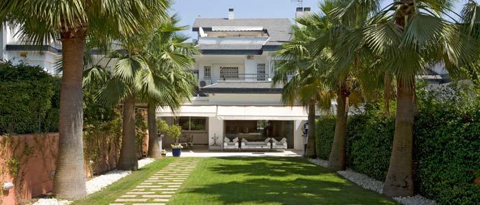 Villa garden, Barcelona