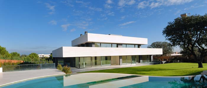 Captivating Modern Villa Exterior, Madrid, Spain Nice Design