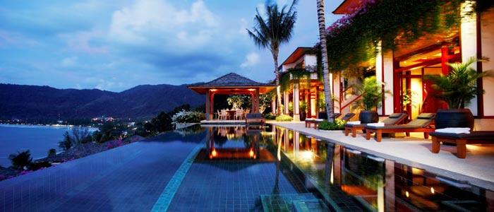 Seaview from villa in Phuket