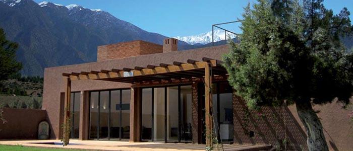 Villa with the Atlas Mountains as a backdrop