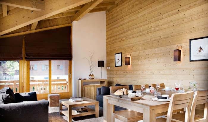 ski apartment interior