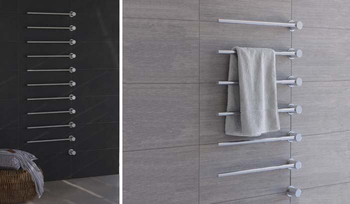 Built In Towel Warmer From Vola