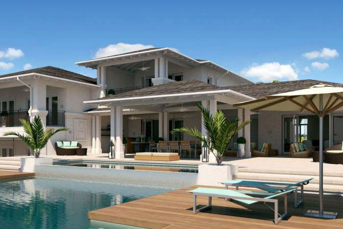 Caribbean real estate for sale villas in apes hill barbados for Luxury caribbean homes for sale