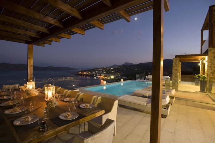 Luxury villa in Crete